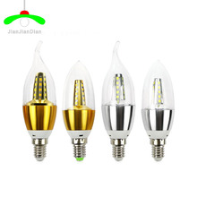 Buy E14 Led Candle Energy Crystal lamp Saving Lamp Light Bulb Home Lighting Decoration Led Lamp 5W 220- 240V SMD283 white warm5 for $1.35 in AliExpress store