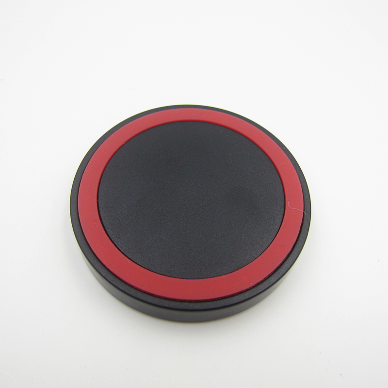 Red color Portable Ultra Slim Qi Standard Wireless Charger Pad for Lumia 920 Nexus 4/5 Samsung Galaxy S3/S4/N7100/N9000