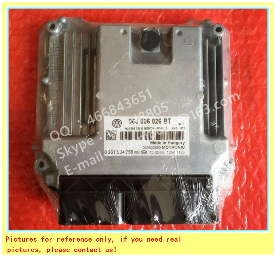 For Volkswagen Magotan Passat car engine computer board/ECU/ Electronic Control Unit/Car PC/ 06J906027EA/06J 906 027 EA(China (Mainland))