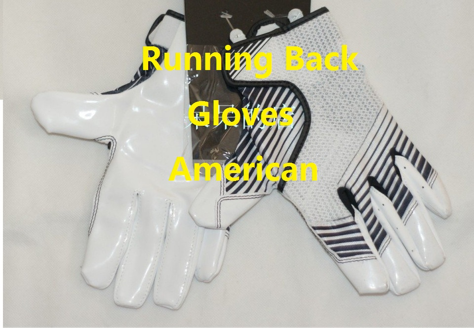 Free Shipping,Brand sports glove,American football gloves,speed grip,running back receiver,team professinal training(China (Mainland))