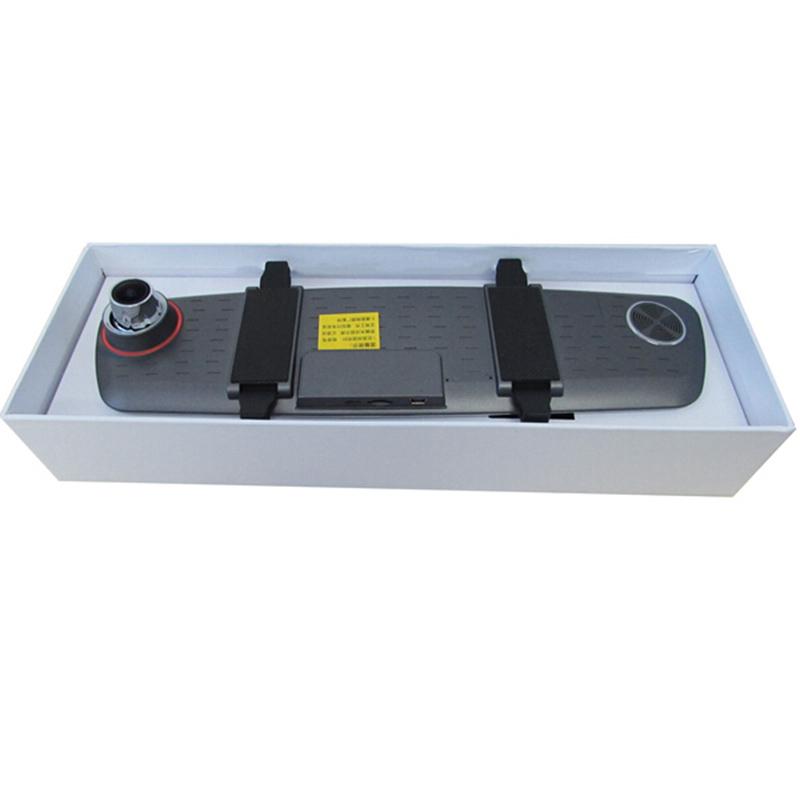 Novatek 96650 Mirror Car Video Camera DVR Rearview Dash Recorder Full HD Multi-Language Vehicle Recorder
