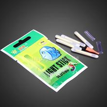 50Pcs Fishing Night Fluorescent Light Float Glow Stick Lightstick 4.5*37mm F#OS
