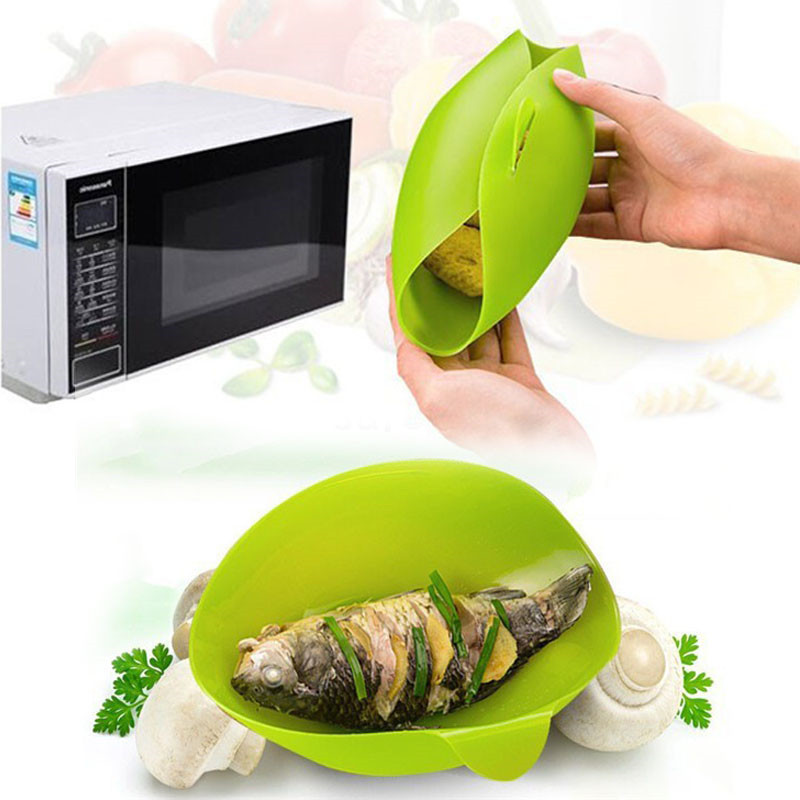 Popular microwave steam bowl buy cheap microwave steam for Cooking fish in microwave