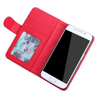 NganSek Traceable S2 S3 S4 S5 S6 S7 Edge A3 A5 A7 Original Luxury Flip Leather Phone Case For Samsung Galaxy Card Slot Wallet