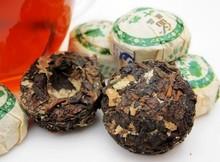 Hot Sale 50PCS PACK Black Tea Pu er Puerh Tea Chinese Mini Yunnan Puer Tea with