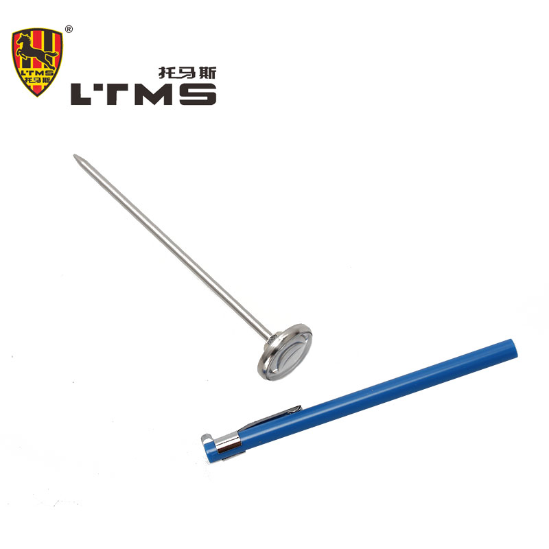 Pointer Thermometer Test Temperature Tools Gauge High Quality Degree Centigrade Pen Probe Car speed reading 304 stainless steel(China (Mainland))