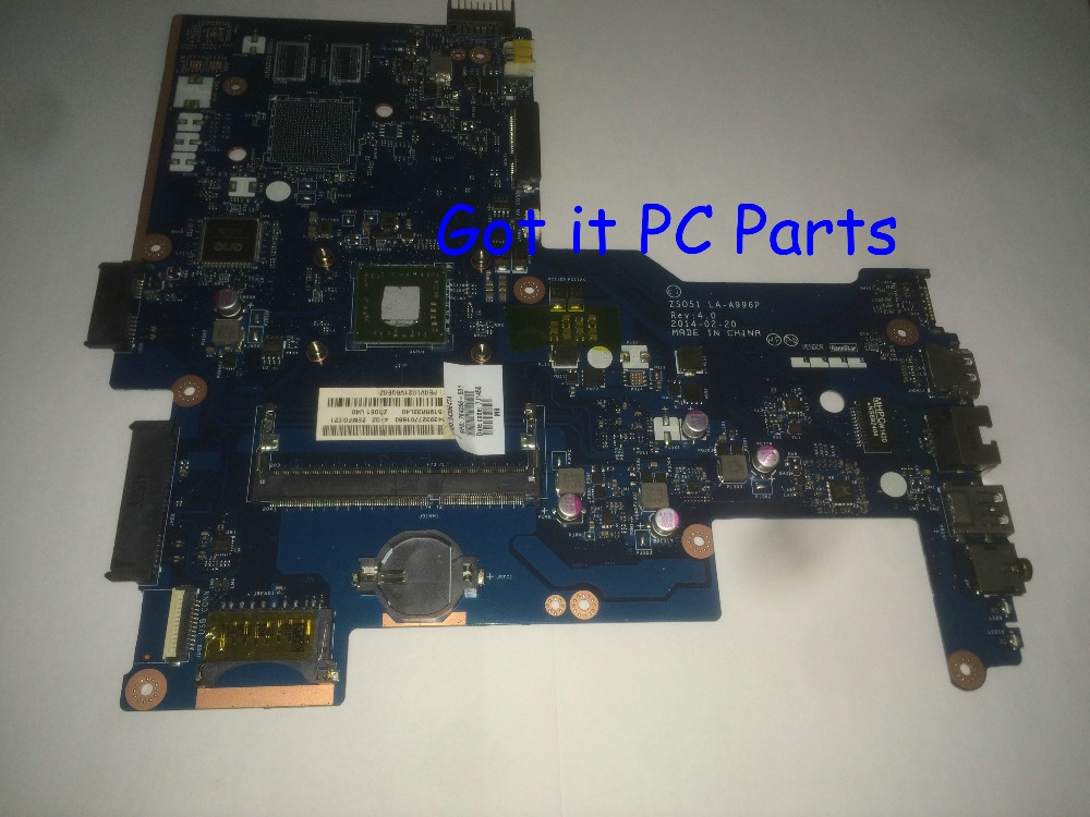 Available + NEW Laptop motherboard ZSO51 LA-A996P REV : 4.0 suitable for HP 15-G  notebook pc<br><br>Aliexpress