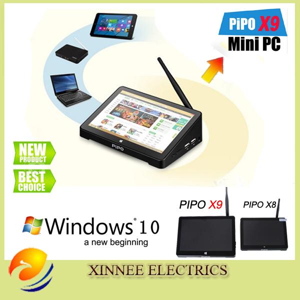 "PIPO X9 8.9""Tablet Mini PC TV Box Windows10 Android 4.4 Intel Z3736F Quad Core Dual Boot OS Intel Z3736F Quad Core Mini PC"