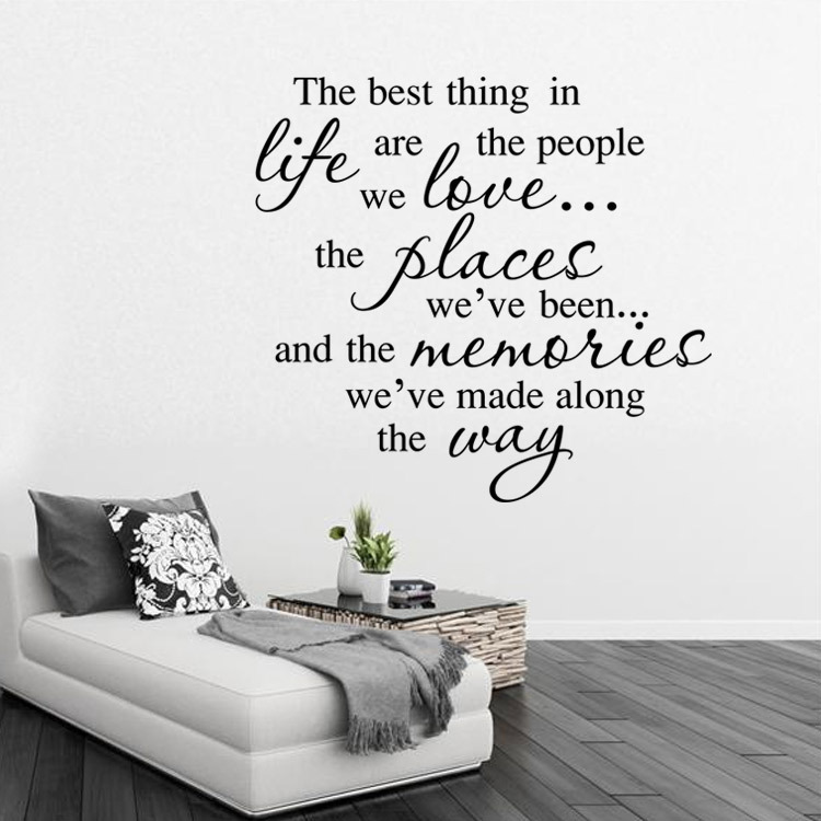 Inspirational quotes home decorative personality creative high quality hot  wall stickers removable waterproof PVC Art