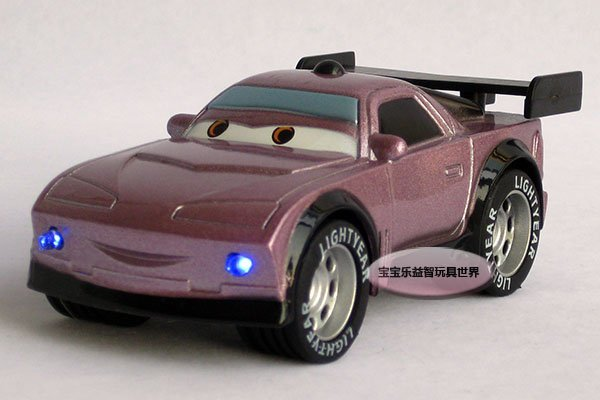 Free shipping-- Cars Purple tail bad guy/ acousto-optic edition Jai alloy model car/ alloy model car /  puzzle toy