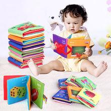 baby spielzeug baby tuch Buch Wissen multifunktionale Früherziehung Bett um bunten spaß baby tuch buch(China (Mainland))