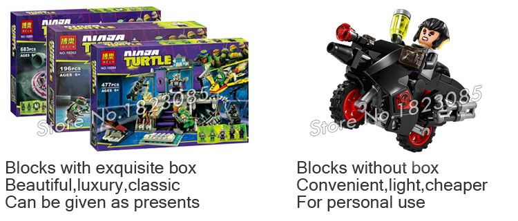 404pcs Bela 10209 Teenage Mutant Ninja Turtles Baxter Robotic Rampage Minifigures Constructing Blocks Units Toys Suitable With Lego