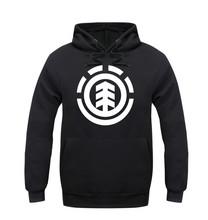 2016 Spring Winter element skate hooded men Hip Hop Men's Hoodies Hoody Pullover Fleece sweatshirts man clothes Sportswear(China (Mainland))