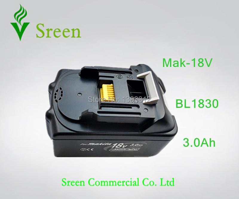 Гаджет  1  x pcs Special Price  New  Replacement  Power Tools li-ion Battery  for makita 18v BL1830 3.0Ah  Free shipping    None Электротехническое оборудование и материалы