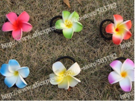 free shipping 320pcs Hawaiian foam Plumeria Flower...