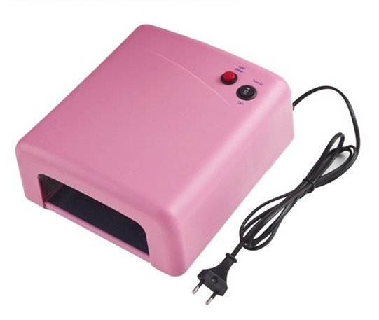 Chrismas promotion free shipping!!!Factory price 36W UV Nail Art Lamp Gel Curing Tube Light Dryer EU 220V -Y805
