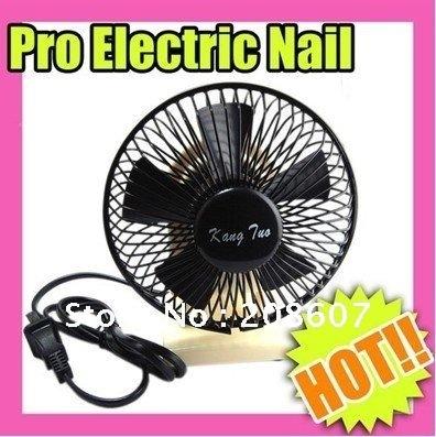 Freeshipping Professional Nail Art Mini Fan Dryers Cosmetic Machine Fast Dry Tool nail mini fan for dry nail polish