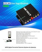 wholesale one Antenna Car ATSC Mobile Digital TV receiver Car TV Receiver USA  ES-P009(China (Mainland))