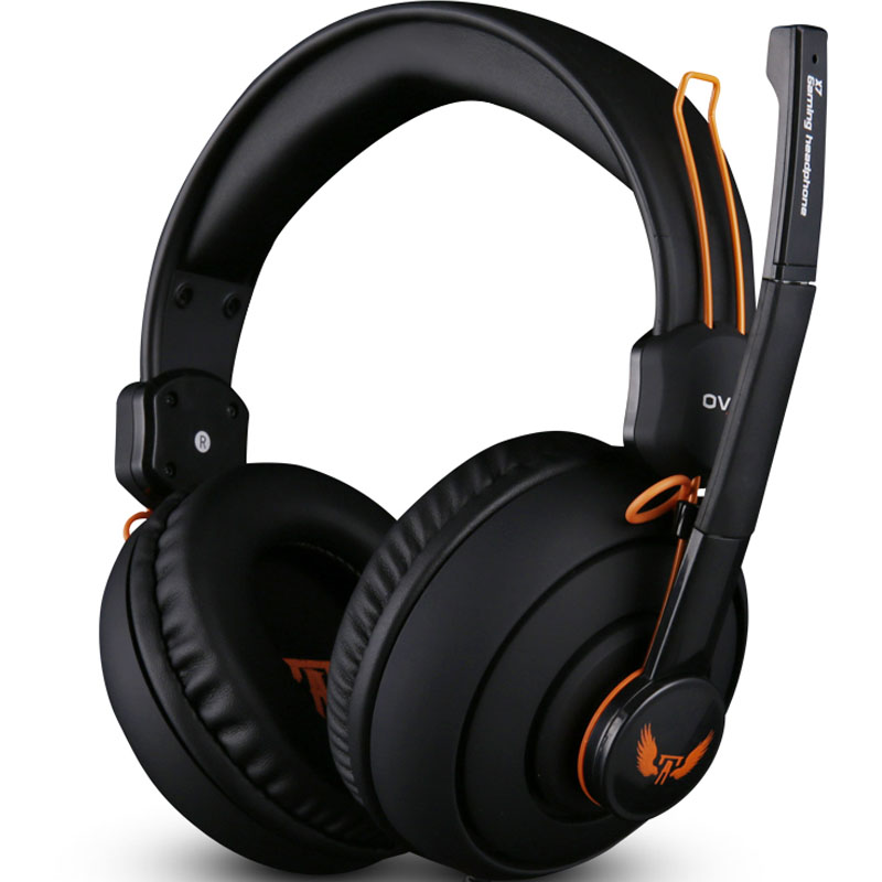 High Quality Earphones & Headphones Gaming Headset Headphone Microphone Gamer Studio Bass Noise Isolating Brand dj 3.5mm x7(China (Mainland))