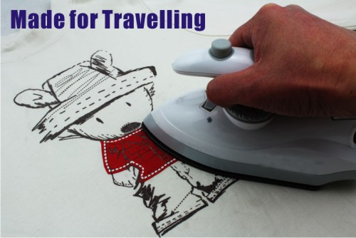 Free shipping, 110-240V Portable Steam spray Electronic Travelling iron for busiessman/student, gift for international travelers(China (Mainland))