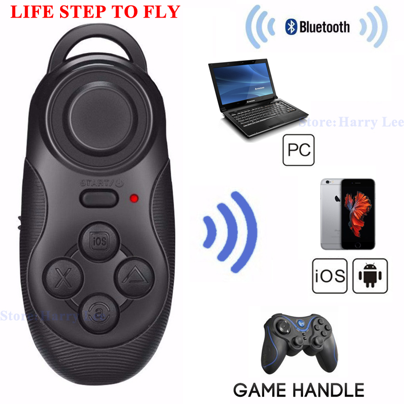 Bluetooth wireless game mouse auto selfie remote shutter controller joystick gamepad iOS Android Moblie phone camera - Yusiness,science and technology store