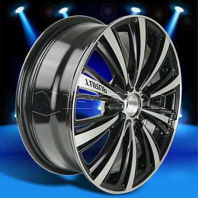 2015 New 116'' x 6.5'' Alloy Car Wheels Rim Black Machined Polished for Nissan Sentra 2002-2012 USA STOCK Free Shipping(China (Mainland))