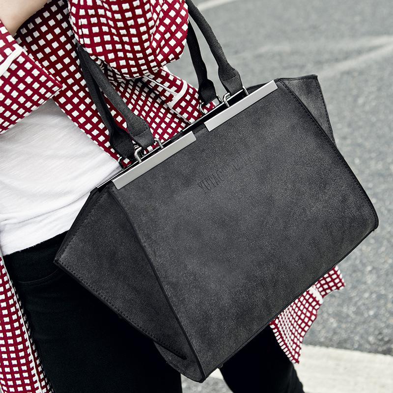 Scrub Vintage Fabric Handbags 2016 Spring New High Quality Fashion Casual Women Leather Handbag Retro Bolsa Feminina Bab33292 от Aliexpress INT