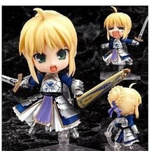 Q version of the 121# animation project doll wholesale saber Sebastian Knight can do super adorable doll doll face a sword