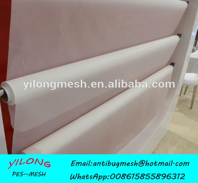 305mesh/120T 34um Yellow 145 width Free Shipping 120T Polyester Screen Printing Mesh Tela De Silk(China (Mainland))