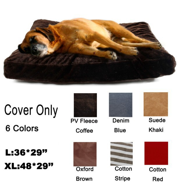 New Hot Soft Warm Dog Cushion Cover Dog Cat Bed Cover Pet Fleece Blanket SizeS L Large Dog Bed Mat Cover 6 Colours Freeshipping(China (Mainland))