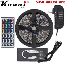 Buy 5M RGB led Strip tape 5050 SMD 300led Flexible Waterproof 44key Remote 12V 3A Transformer Used decorate yoursweet family co., LTD) for $9.83 in AliExpress store