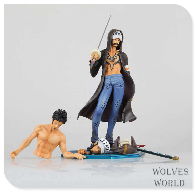Japan One Piece New World Anime Figuarts Zero Trafalgar Law Action Figure PVC Boxed Model 12th Anniversary Limited Edition 0172(China (Mainland))