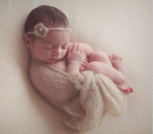 Повязка для новорожденной своими руками
