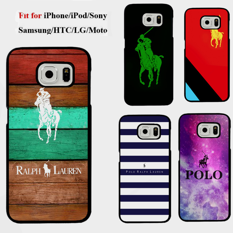 New Fashion Brand polo ralph lauren logo Custom Printed Phone Case for Samsung galaxy s6 Ralph Lauren Cover for Galaxy S6edge(China (Mainland))
