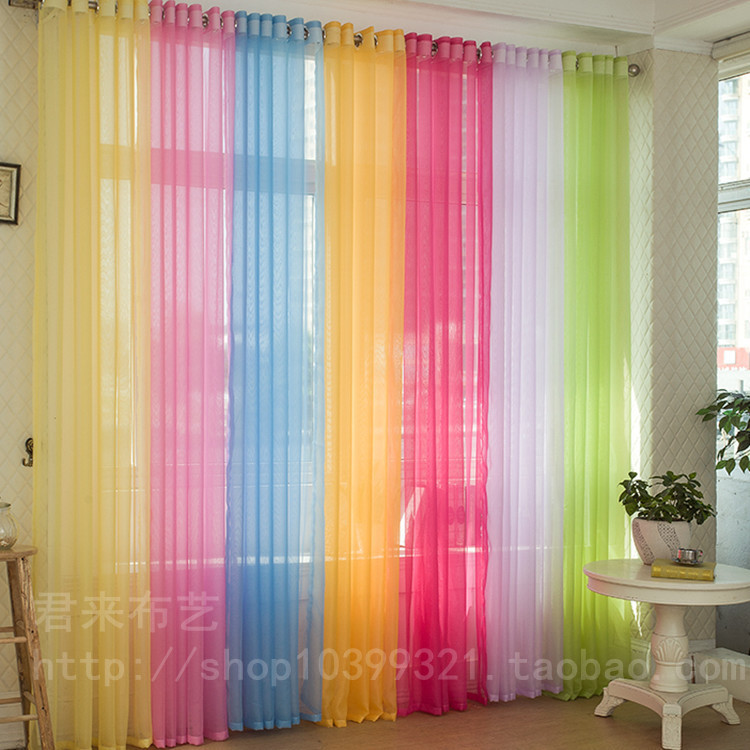 buy sheer curtains for living room windows tulle