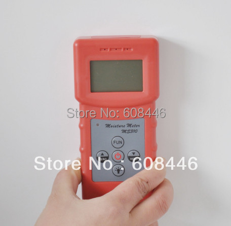 woodwork,paper making,flakeboard,furniture,building,timber traders Inductive moisture meter MS310 concrete wood..(China (Mainland))