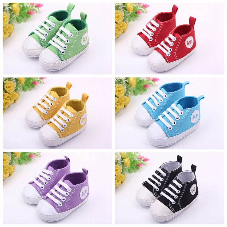 1 Pair Boy&Girl Sports Shoes First Walkers Kids Children Shoes Sneakers Sapatos Baby Infantil Bebe Soft Bottom Prewalker Boots(China (Mainland))