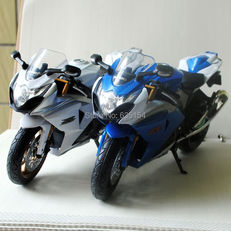 Игрушечная техника и Автомобили 2 /1/12 Suzuki GSX R1000 Diecast 1/12 diecast motorcycle injection molding fairing kit for suzuki gsx r1000 05 06 k5 gsxr 1000 2005 2006 white blue motorcycle fairings set nm72 cowl