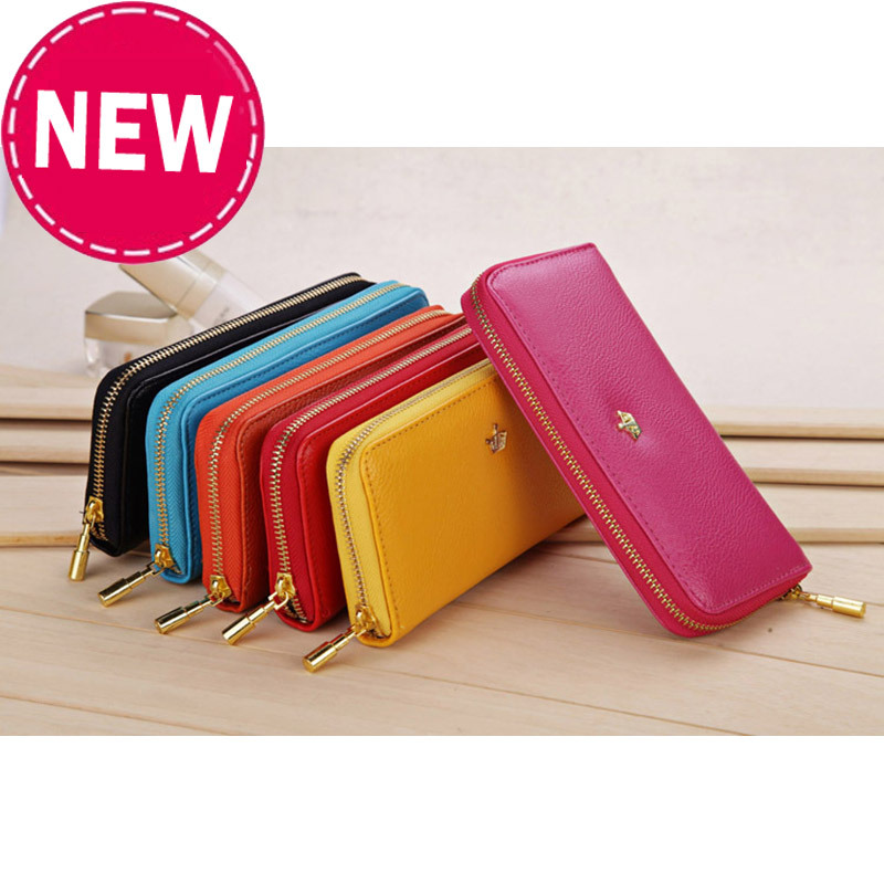 2015 New Design Woman Leather Wallet, PU Long Purses - Shenzhen Aitop Co., LTD store
