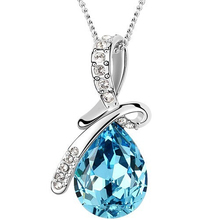 Buy 2017 Necklaces & Pendants Crystal Necklace Women Jewelry Necklaces Pendants Mother's Day Gift Fashion Jewellery Wholesale ) for $1.25 in AliExpress store