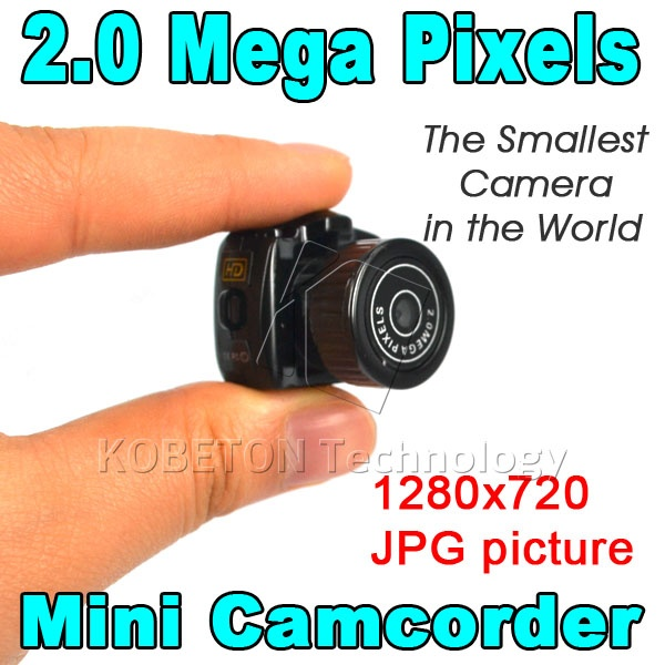 Hot Y2000 Smallest Cmos Super Mini Video Camera Ultra Small Pocket 720*480 DV DVR Camcorder Recorder Web Cam 720P JPG Photo(China (Mainland))