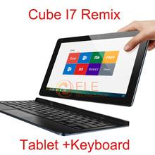 "Original 11.6"" Cube I7 Remix Tablet PC+Keyboard Intel Z3735F Quad Core 2GB+32GB GPS Multi-language HDMI 2MP+5MP Remix OS Tablet(China (Mainland))"