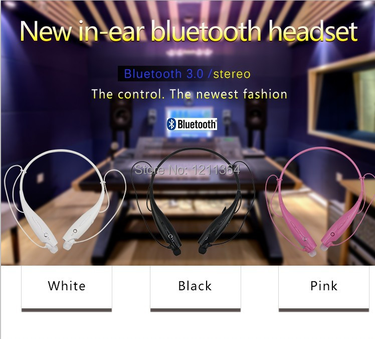 Free Shipping   Bluetooth Headset 2014 New Wireless Bluetooth Earphone Bluetooth Headphone  For iPhone Smart Phone Tablet PC Mp3<br><br>Aliexpress