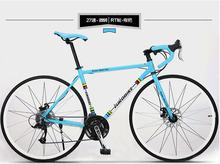 Buy EUROBIKE XC650 road bike 700*49 cm aluminum alloy bicycle 27 speed bike folding bike 160-185CM double disc brake for $166.53 in AliExpress store