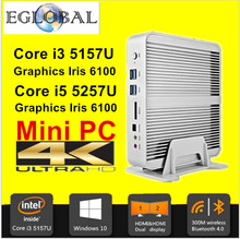 High Grade Mini PC Mini Computer windows7/10 Fanless PC Youtube Box Intel Core i5 5257U CPU max 3.1Ghz 16GB RAM 256G SSD 4K(China (Mainland))