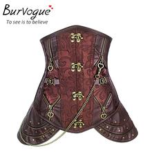 Burvogue Plus Size Waist Ttraining Corset Steel Bone