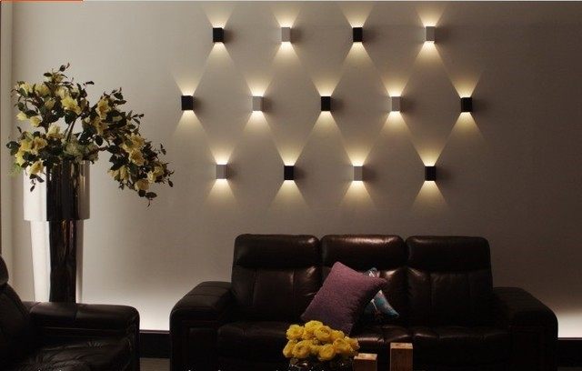 modern 3w led holiday lighting wall light restroom
