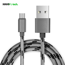 Fabric Nylon Braided Mobile Phone Cable Charger Sync Cabel for iphone 5/6 for Samsung LG smartphone goophone USB Type-C