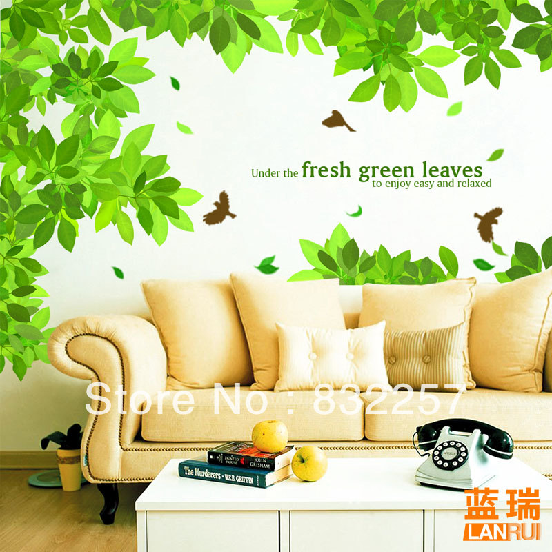 sofa tv wall decoration tree wall decals family tree cheap. Black Bedroom Furniture Sets. Home Design Ideas