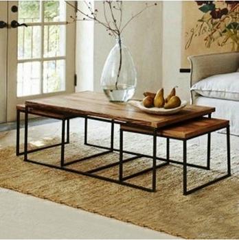 amerikanischen land zu tun die alten schmiedeeisen couchtisch wohnzimmer tisch retro m bel. Black Bedroom Furniture Sets. Home Design Ideas